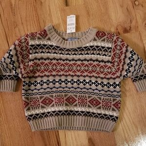 Children's Place Crew Neck Pullover Ski Sweater